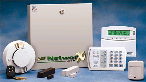 Networx Intrusion Detection Panel And Devices